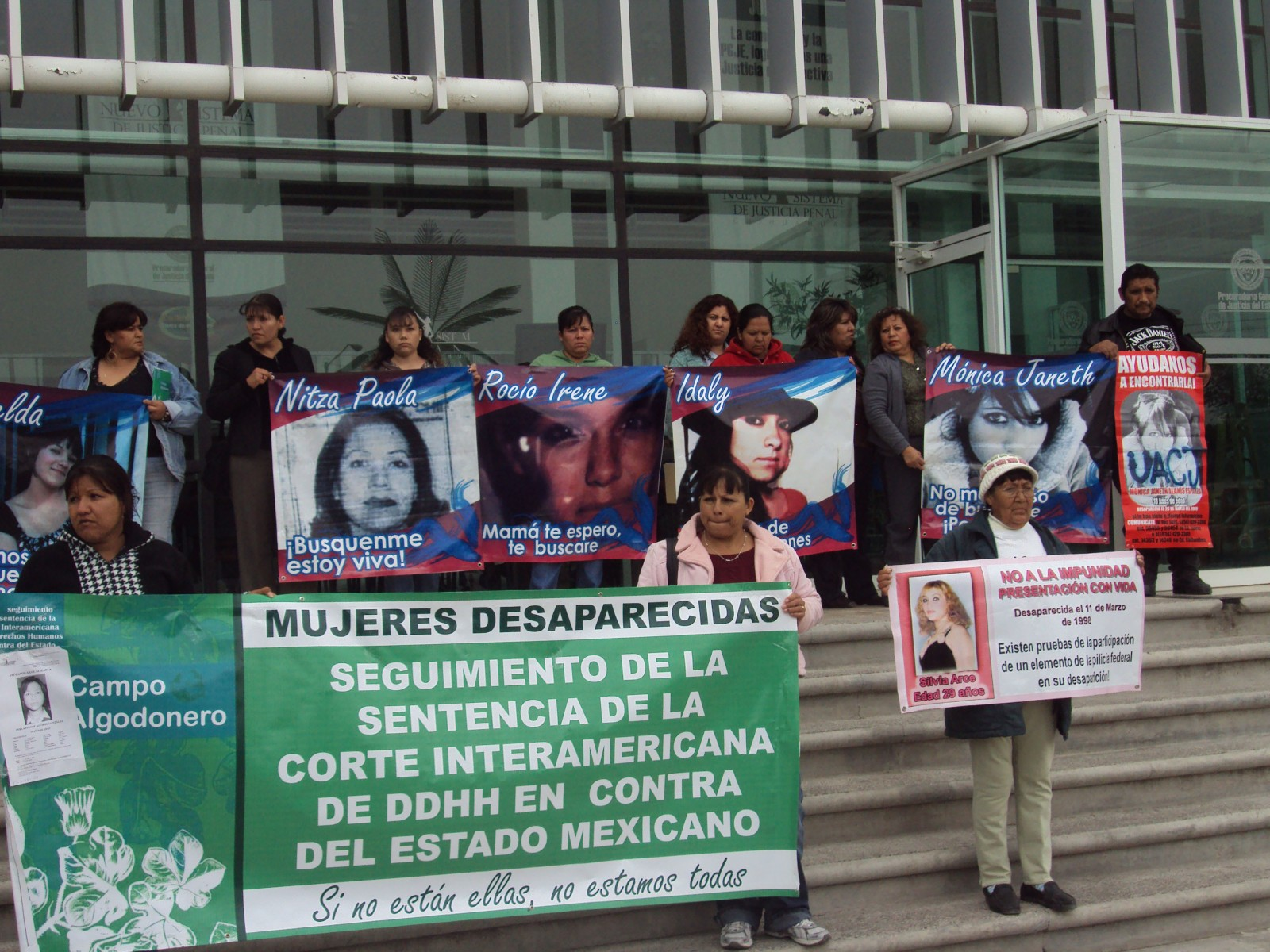 Photograph 1 Protests On Behalf Of The Missing Girls And Young Ladies  Photograph By Julia Mon�rrez (2010)